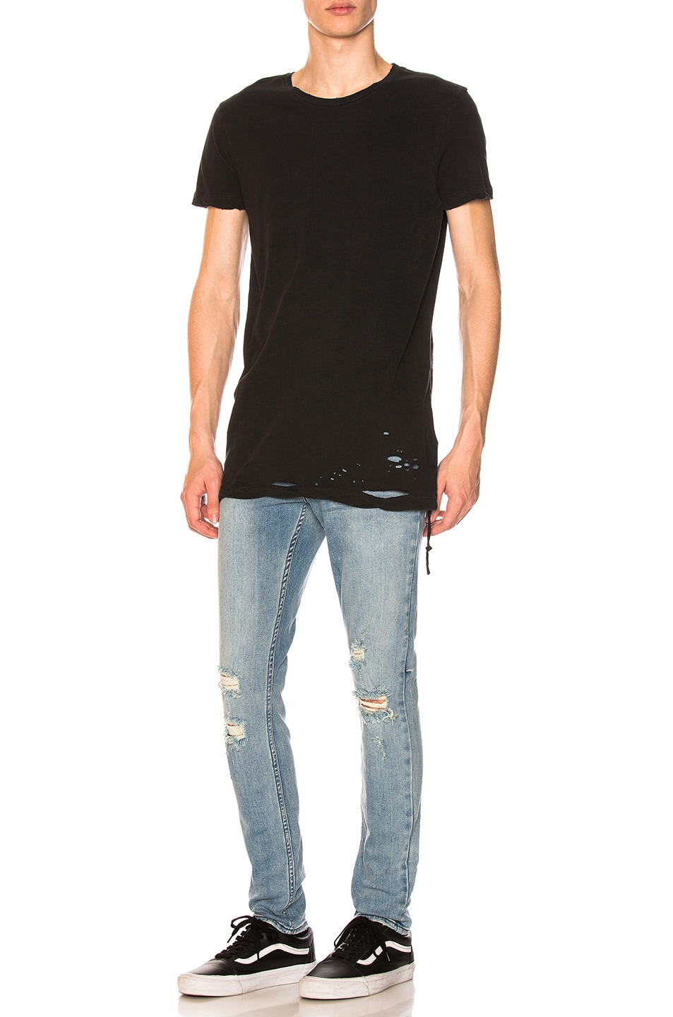 Image 4 of Ksubi Sioux Tee in Black