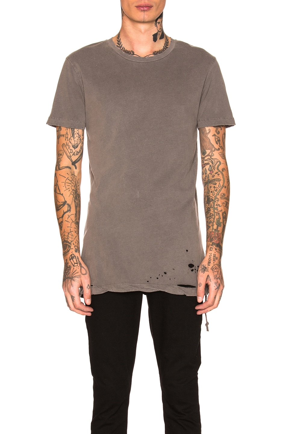 Image 1 of Ksubi Sioux Tee in Grey