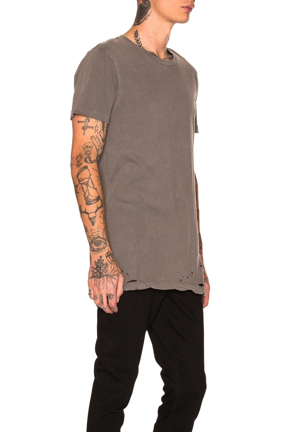 Image 2 of Ksubi Sioux Tee in Grey