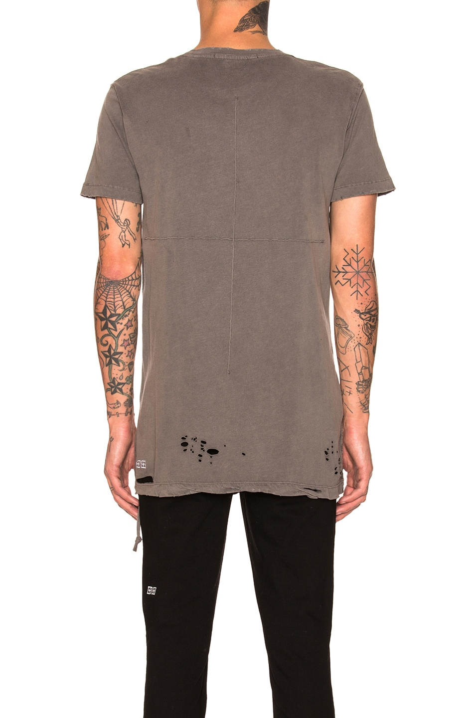 Image 4 of Ksubi Sioux Tee in Grey