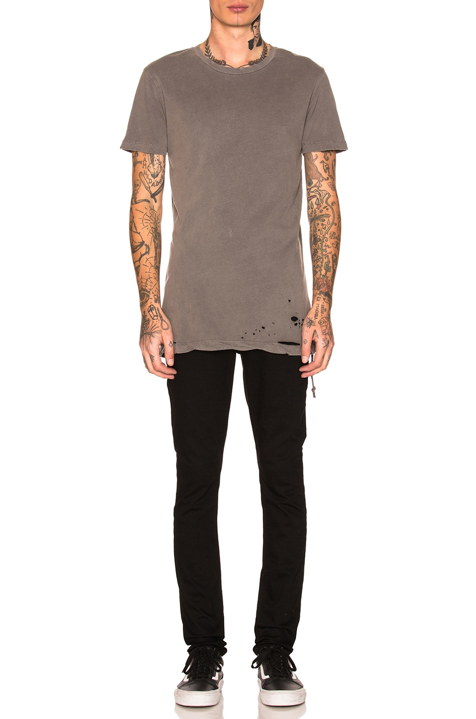 Image 5 of Ksubi Sioux Tee in Grey