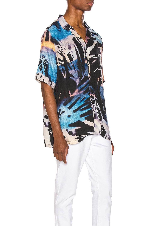 Image 2 of Ksubi Palms Resort Print Shirt in Multi