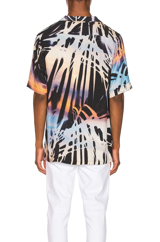 Image 3 of Ksubi Palms Resort Print Shirt in Multi