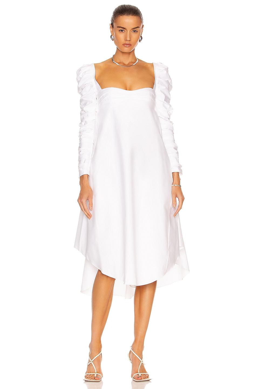 Image 1 of KHAITE Karlina Dress in White