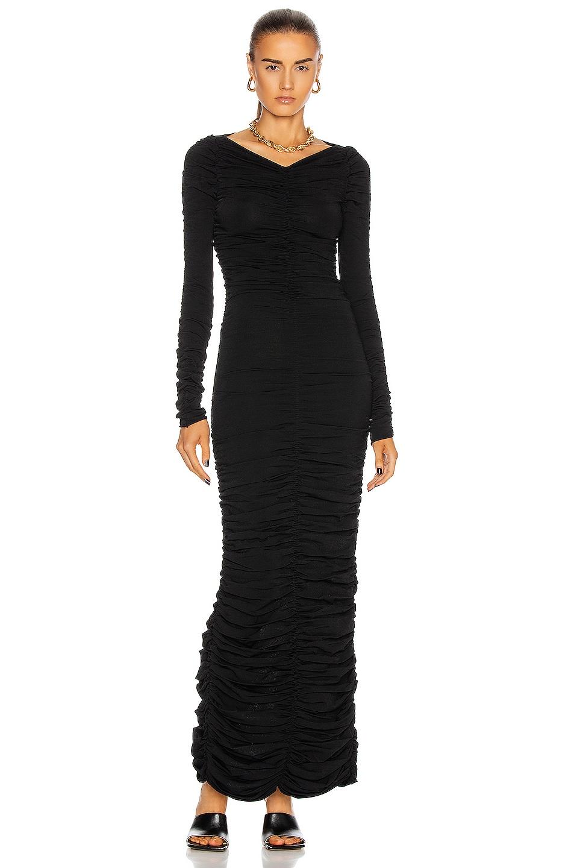 Image 1 of KHAITE Lana Dress in Black