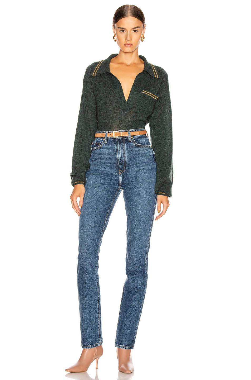 Image 4 of KHAITE Daria Slim Jean in Tucson