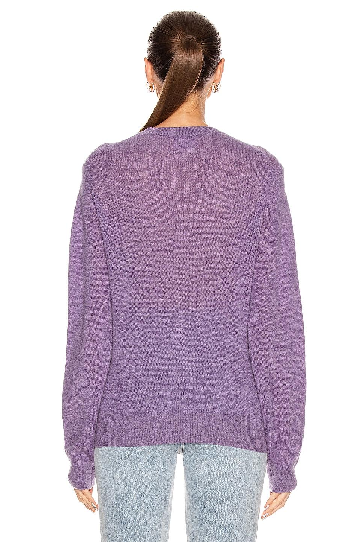 Image 3 of KHAITE Viola Sweater in Amethyst