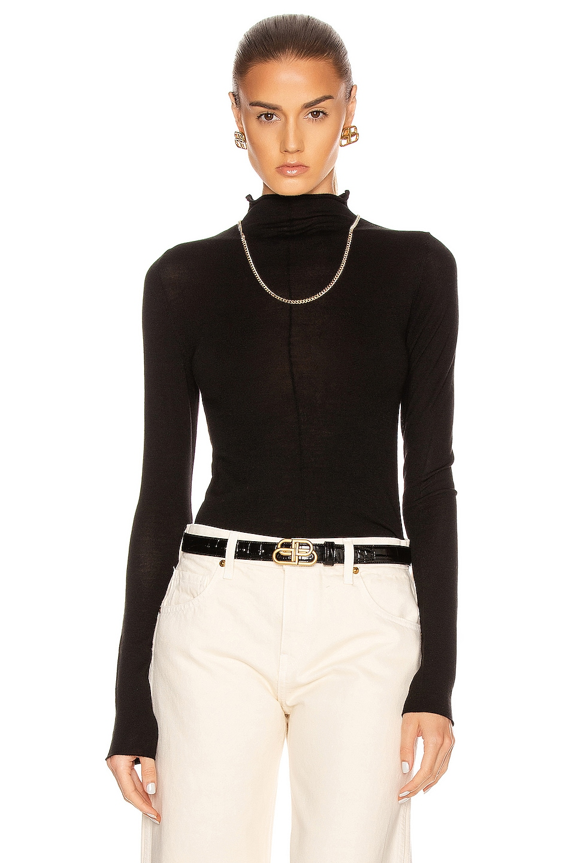 Image 1 of KHAITE Lola Sweater in Black