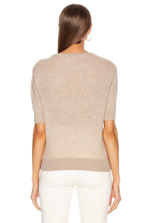 Image 3 of KHAITE Dianna Sweater in Powder
