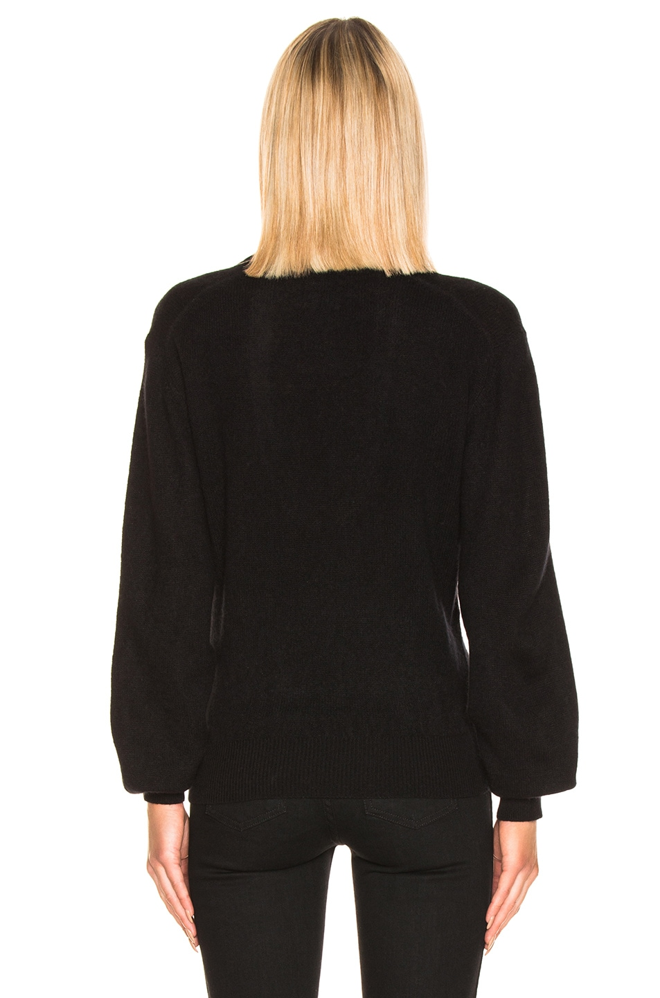 Image 3 of KHAITE Mallory Sweater in Black