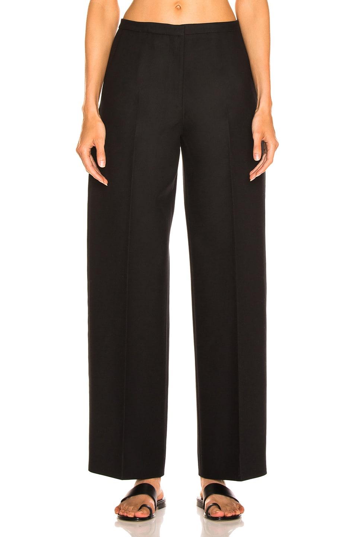 Image 1 of KHAITE Charlize Pant in Black