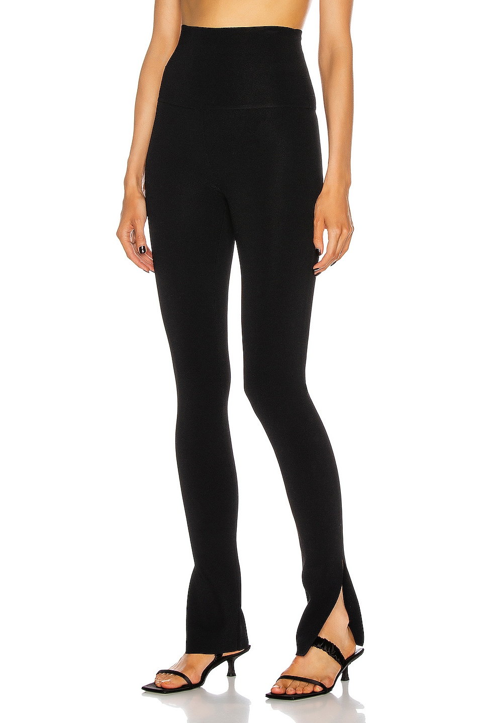 Image 1 of KHAITE Roonie Legging in Black