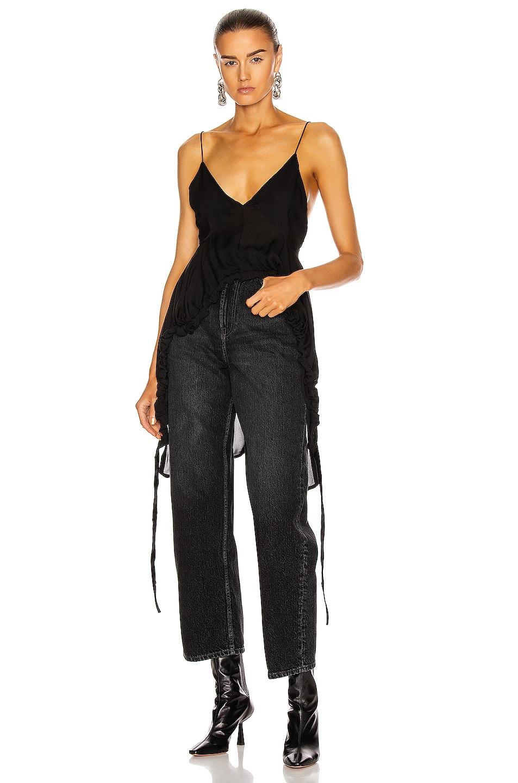 Image 1 of KHAITE Lolla Top in Black