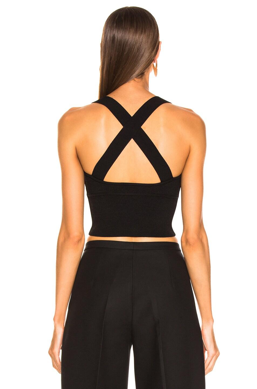 Image 3 of KHAITE Kiki Bralette Top in Black