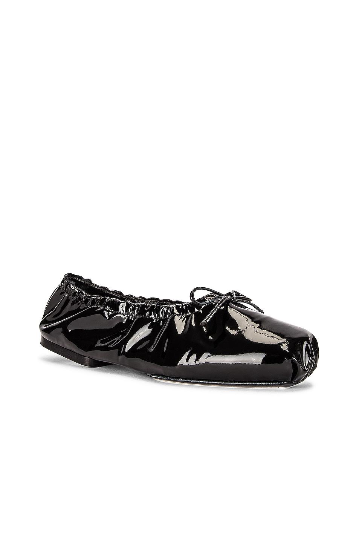 Image 1 of KHAITE Ashland Ballerina Flats in Black