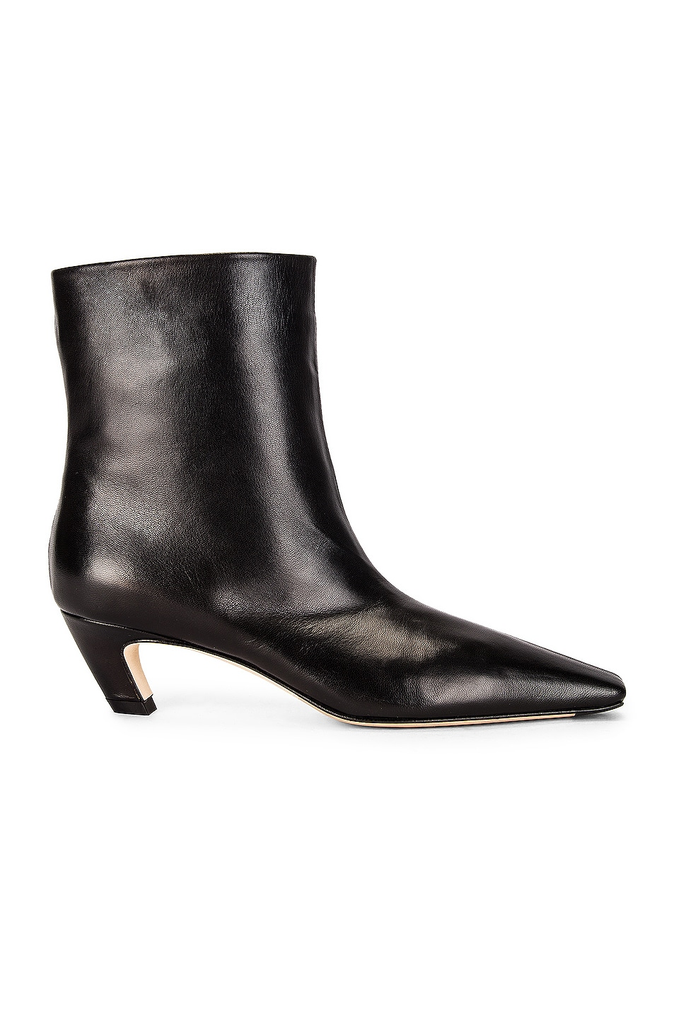 Image 1 of KHAITE Arizona Slouch Ankle Boots in Black