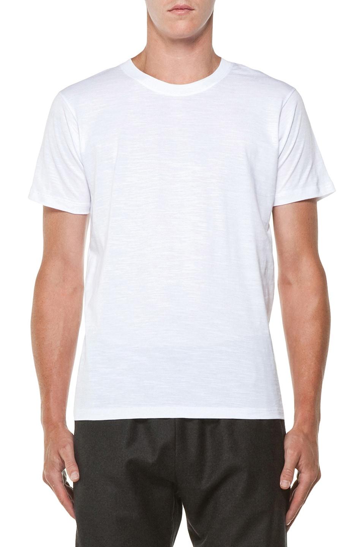 Image 1 of Kris Van Assche Crew Neck Tee in White