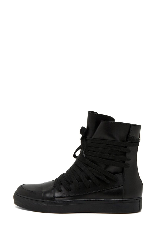 Image 1 of Kris Van Assche Laces Sneaker in Black