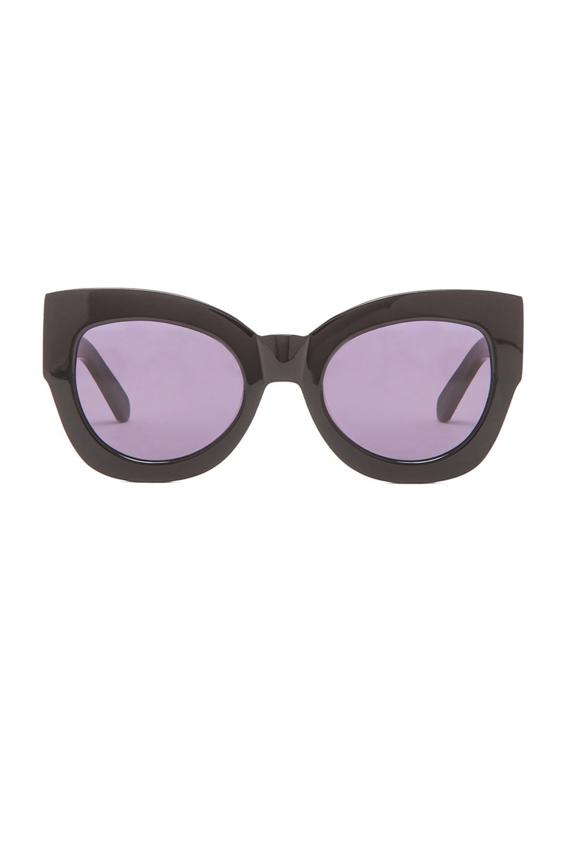 Image 1 of Karen Walker Northern Lights Sunglasses in Black