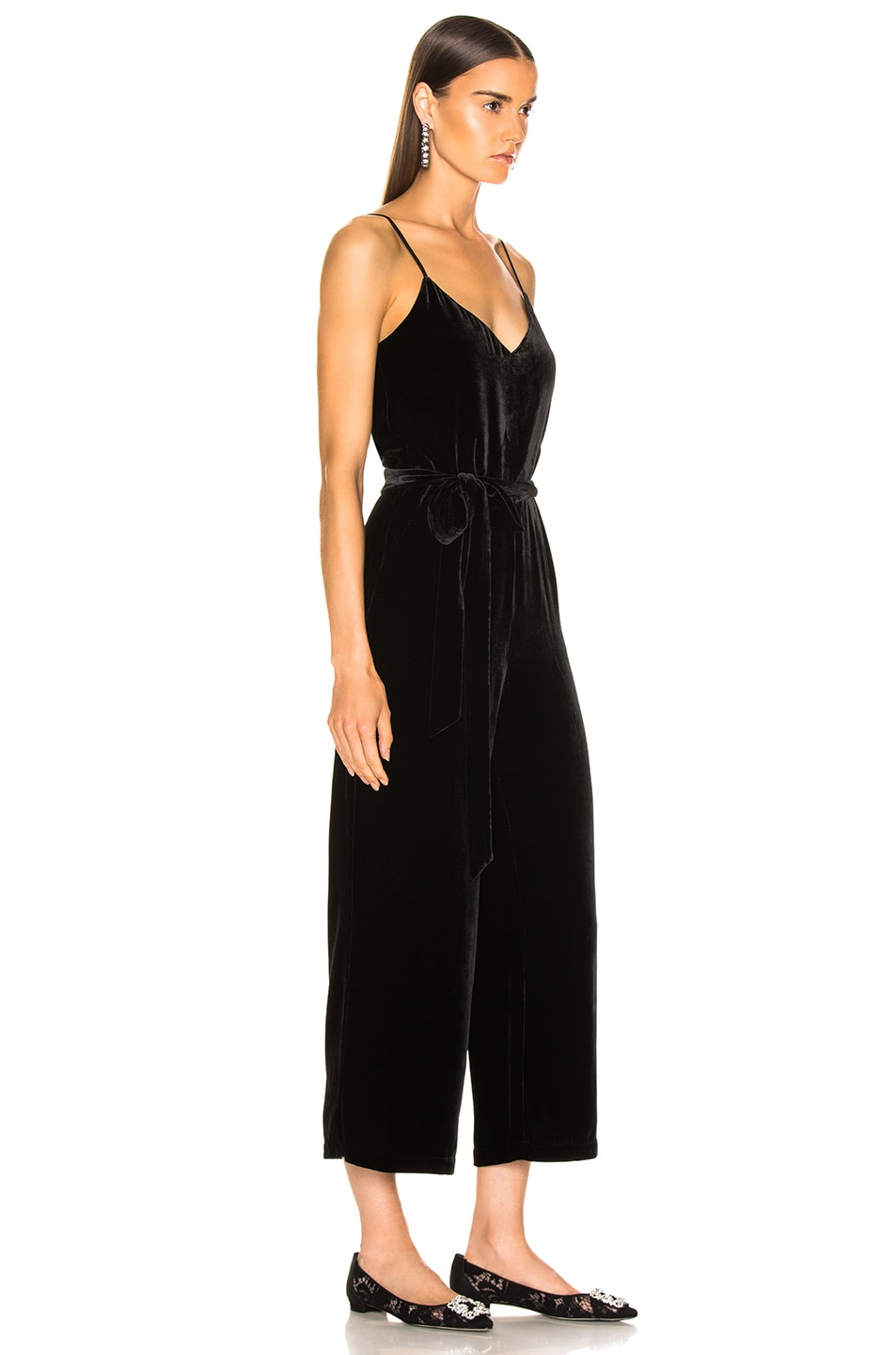 Image 2 of L'AGENCE Jaelyn Camisole Jumpsuit in Black