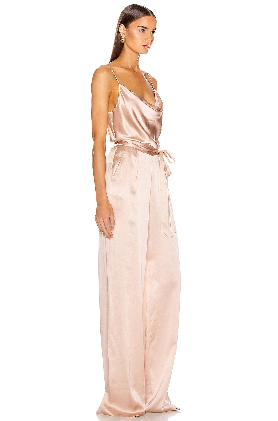 Image 2 of L'AGENCE Rannah Cowl Jumpsuit in Petal