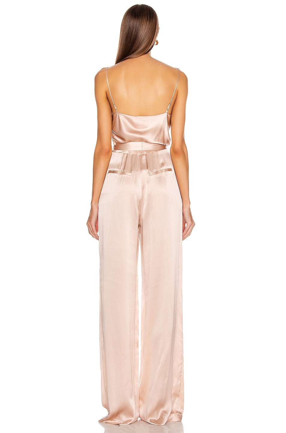 Image 3 of L'AGENCE Rannah Cowl Jumpsuit in Petal