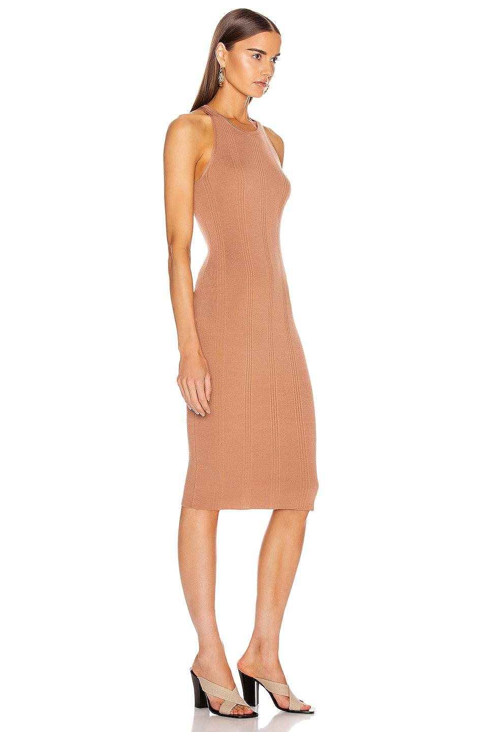 Image 2 of L'AGENCE Shelby Knit Dress in New Clay