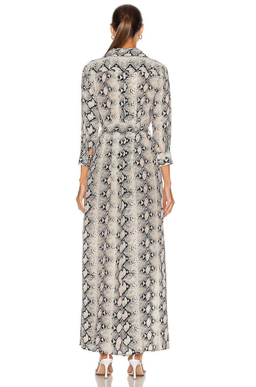 Image 4 of L'AGENCE Cameron Long Shirt Dress in Riverbank
