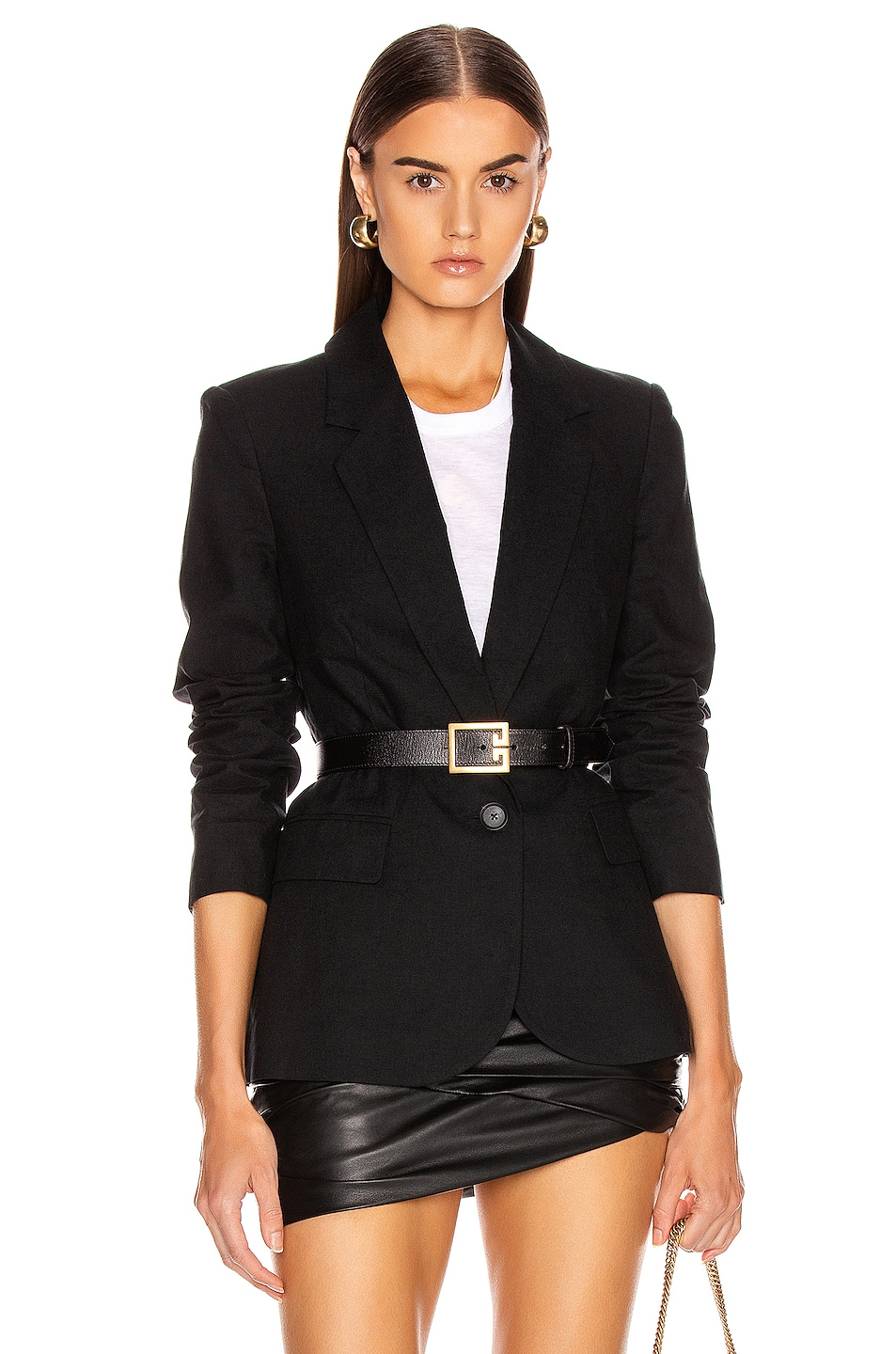 Image 1 of L'AGENCE Scout Blazer in Black