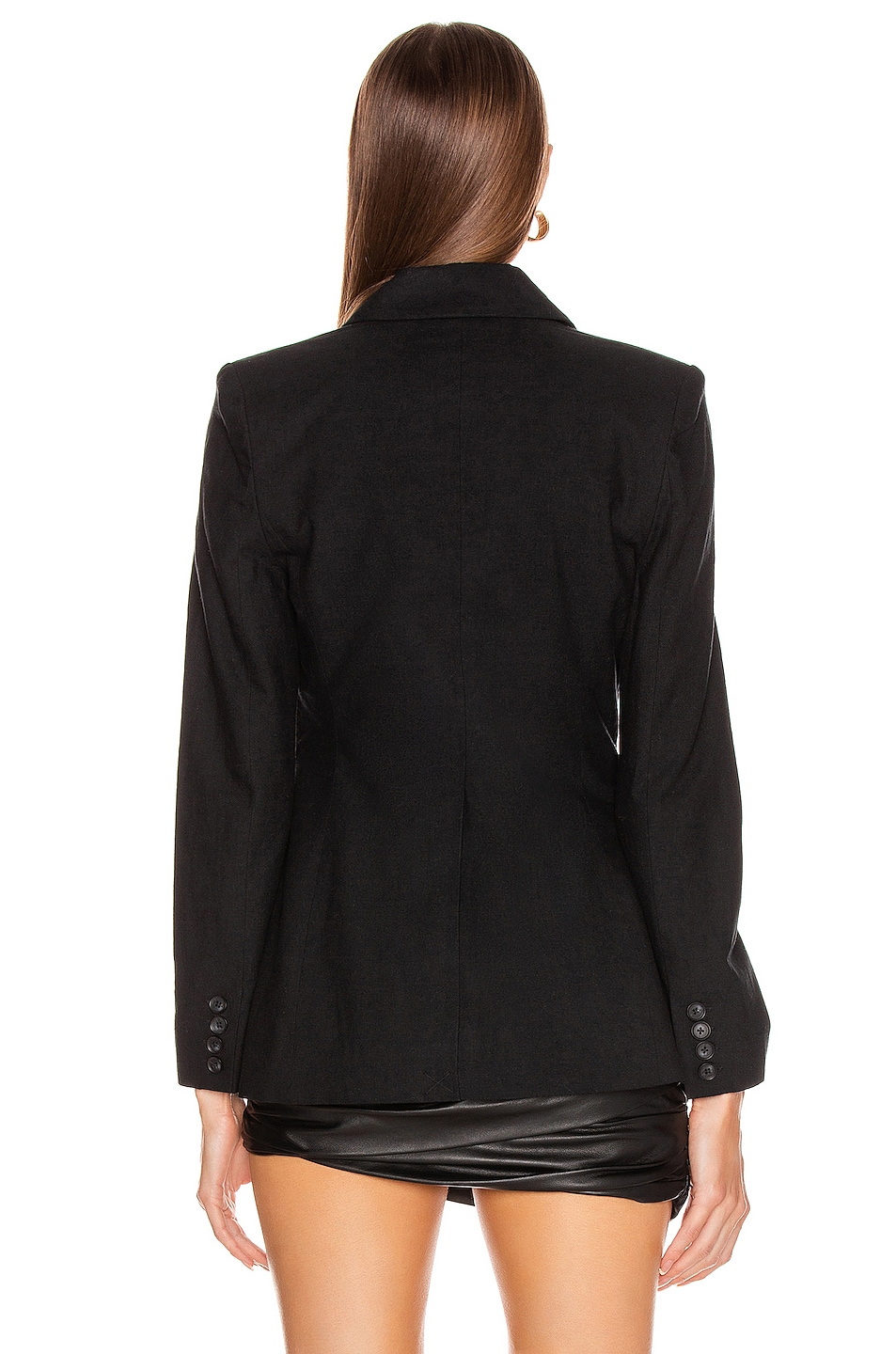 Image 4 of L'AGENCE Scout Blazer in Black