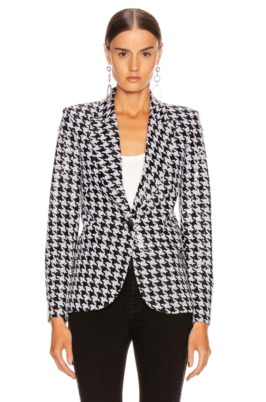 Image 2 of L'AGENCE Chamberlain Blazer in Black & White