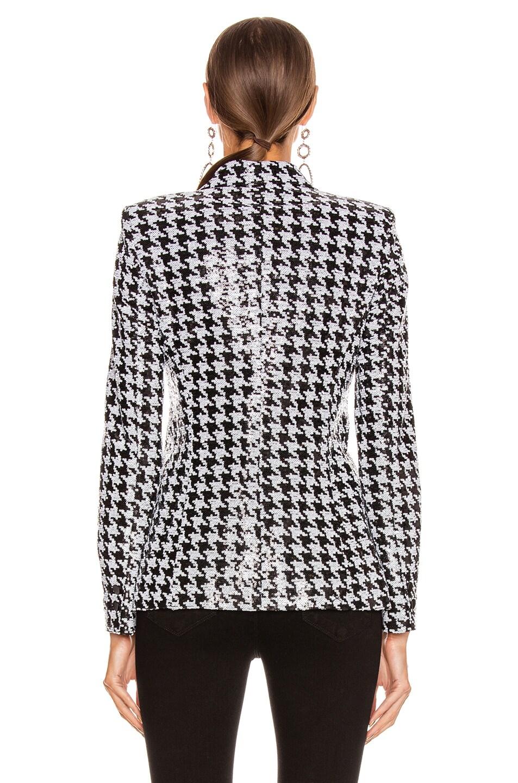 Image 5 of L'AGENCE Chamberlain Blazer in Black & White