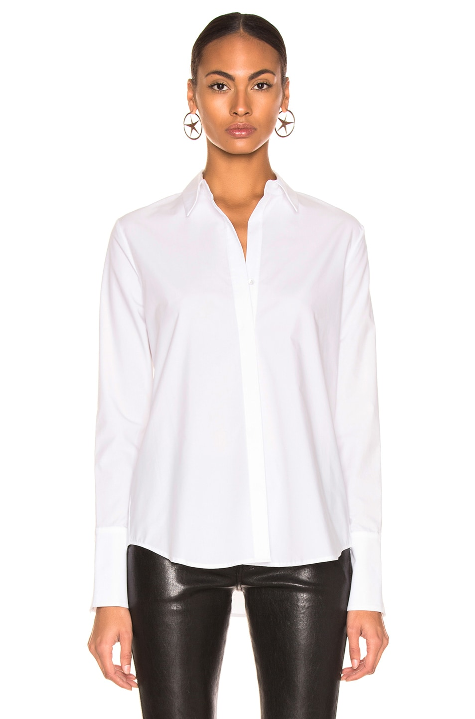 Image 2 of L'AGENCE Kasia Top in Ivory