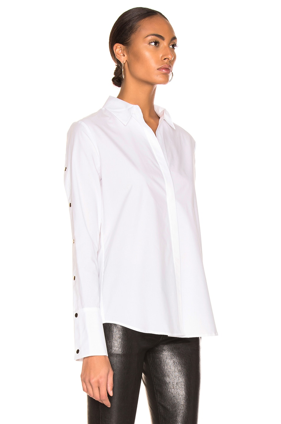Image 3 of L'AGENCE Kasia Top in Ivory