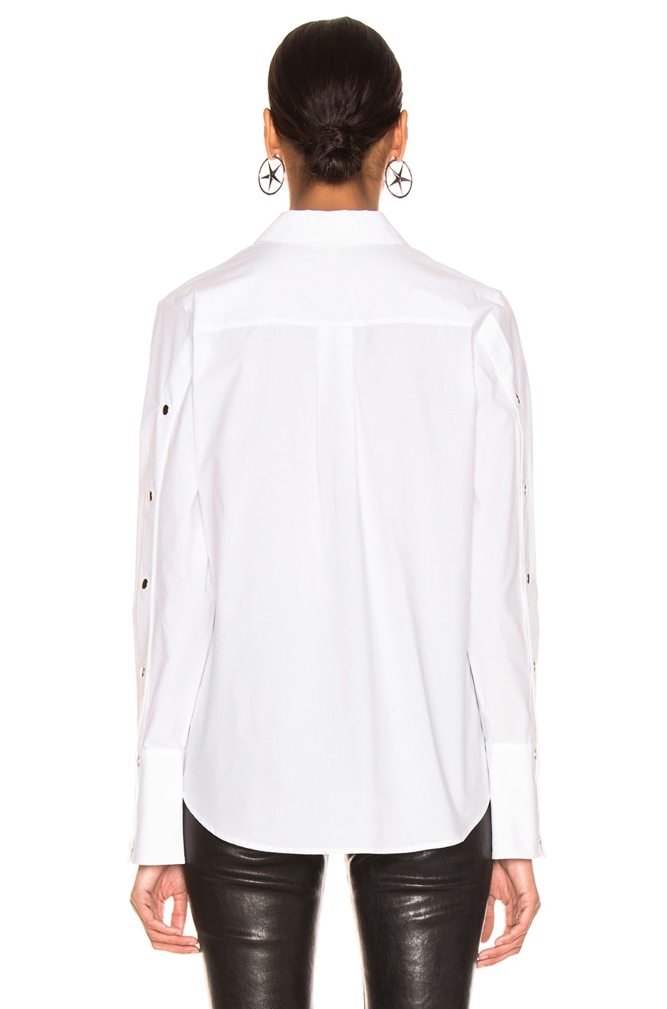 Image 4 of L'AGENCE Kasia Top in Ivory