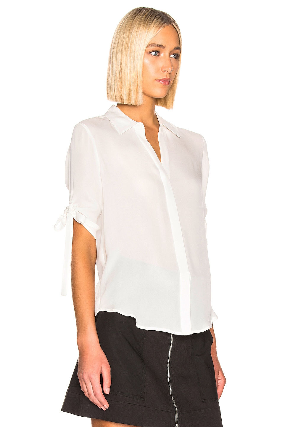 Image 2 of L'AGENCE Isa Top in White