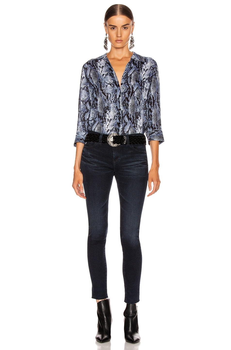 Image 4 of L'AGENCE Ryan Blouse in Myst Salvadora Print