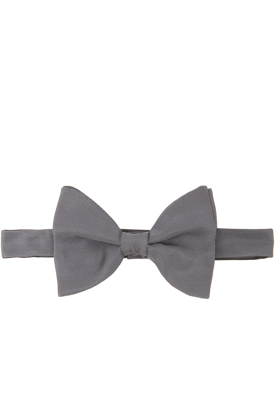 Image 1 of Lanvin Alber Bow Tie in Gray