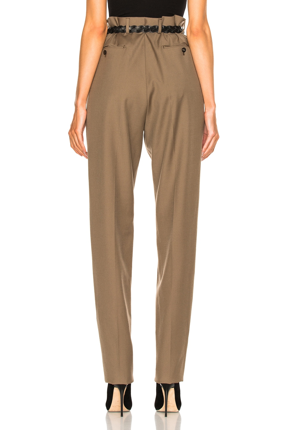 Image 4 of Lanvin Low Crotch Trousers in Sand