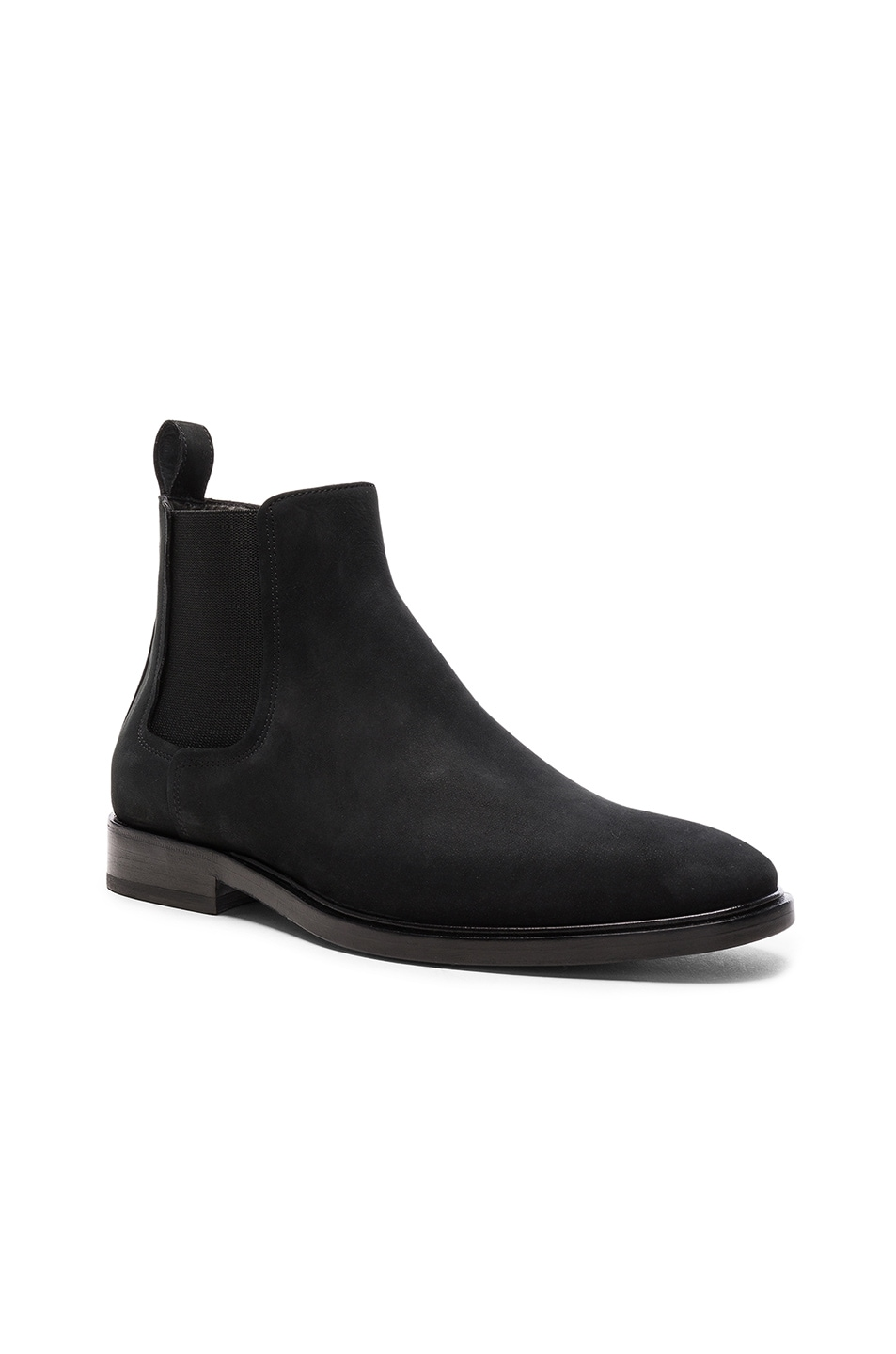 Image 1 of Lanvin Smooth Leather Chelsea Boots in Black