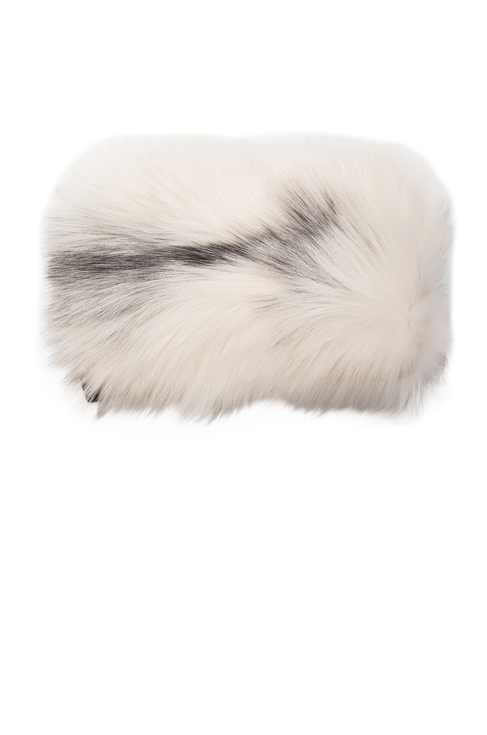 Image 1 of Lanvin Knit Fur Stole in Marble Fox