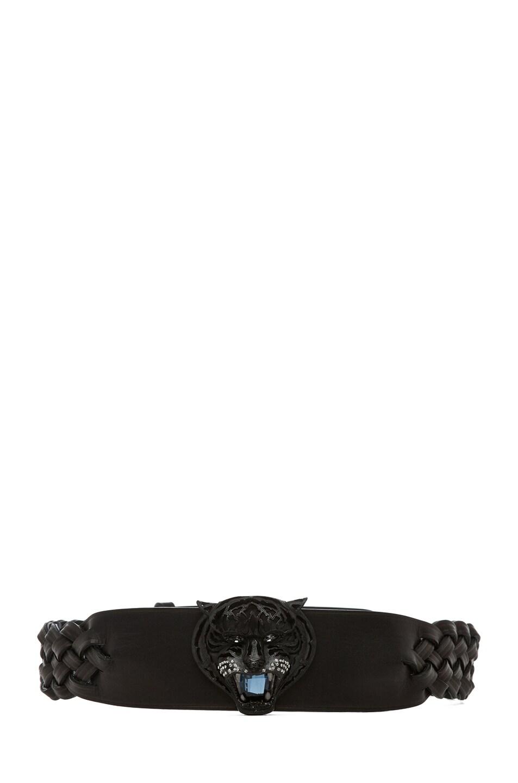 Image 1 of Lanvin Tiger Belt in Black
