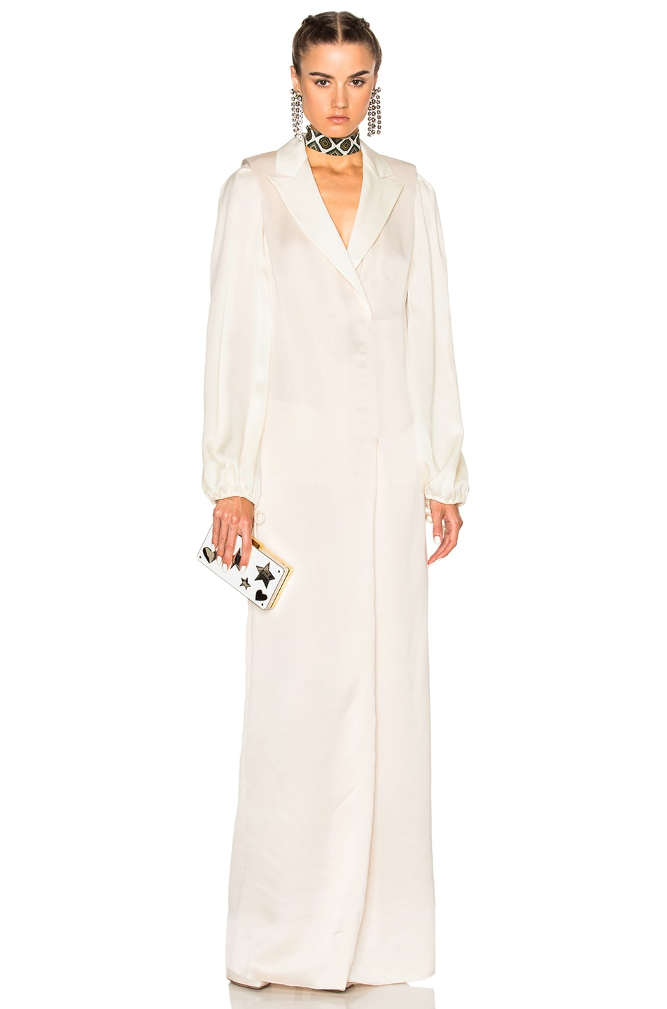 Image 1 of Lanvin Robe Dress in Shell