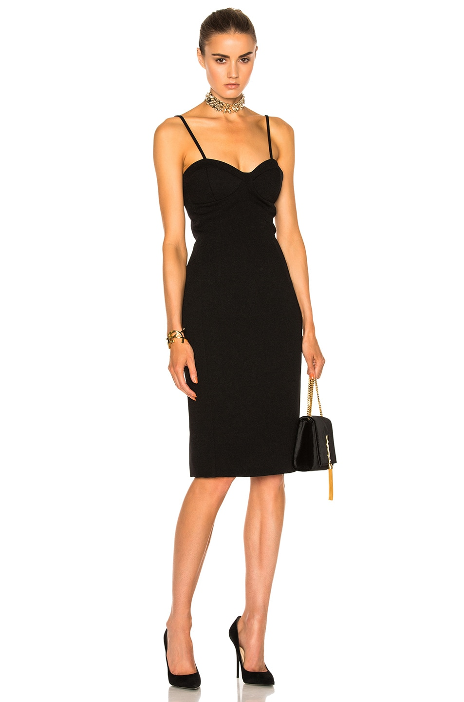 Image 1 of Lanvin Corset Dress in Black