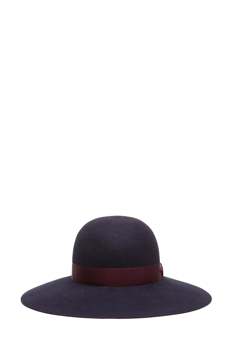 Image 1 of Lanvin Capeline Hat in Navy Blue