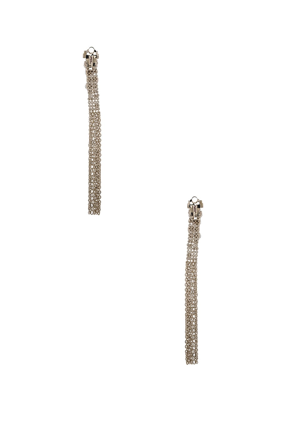 Image 3 of Lanvin Tassel Earrings in Light Gold