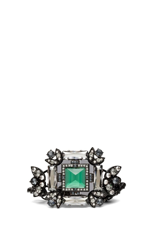 Image 1 of Lanvin Gem Bracelet in Green