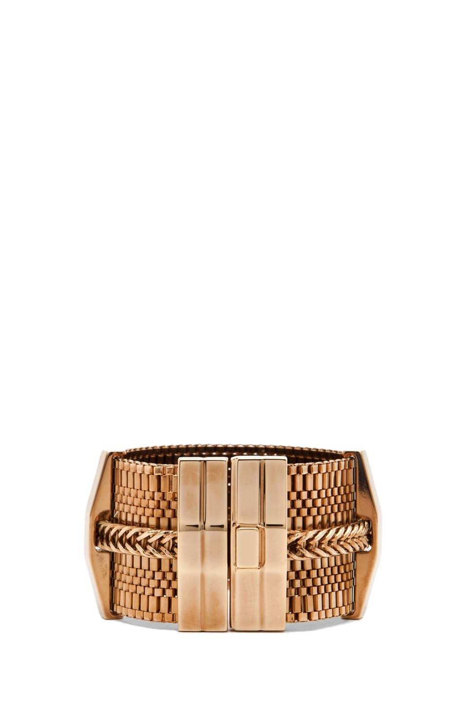 Image 1 of Lanvin Chain Bracelet in Gold