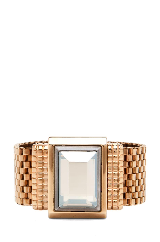 Image 1 of Lanvin Strass Bracelet in Gold