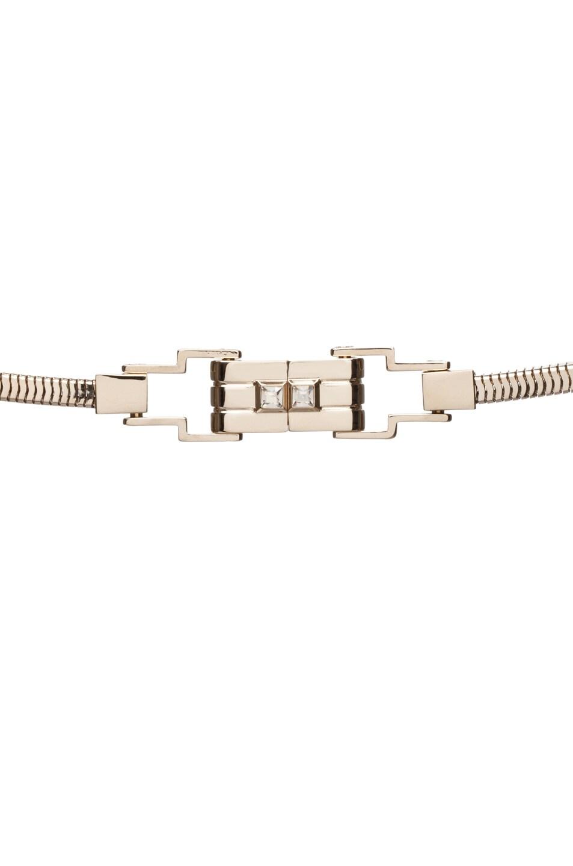 Image 3 of Lanvin Fringe Necklace in Gold